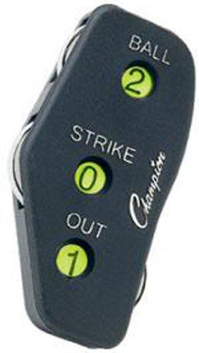 Champion Sports Umpire Indicator Black, Pack of 12