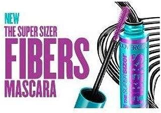 Covergirl The Super Sizer Fibers Mascara, 805 Black (Pack of 2)
