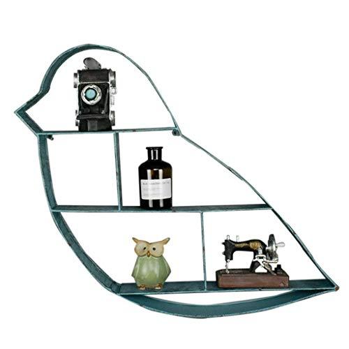 Estanterías Creativas Retro de Hierro Forjado para Pájaros, Sala de Exhibición de...