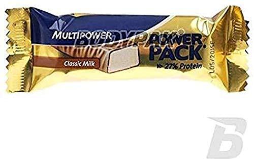 Multipower - Power Pack Classic 27% - Riegel 24er Box Classic Milk
