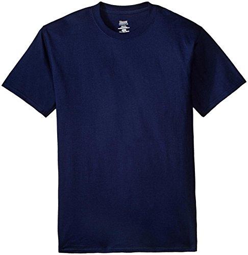 Hanes Big Herren-T-Shirt Beefy-t - Blau - Large Hoch