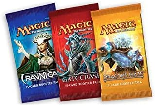 1 (One) Booster Draft Set of Magic the Gathering MTG - Dragon's Maze / Gatecrash / Return to Ravnica Booster Draft Packs