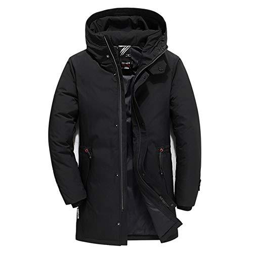 Daunenjacke Marke Männer Kleidung Winter Neue Daunenjacke Mode Schlanke Kapuze Dicke Warme Weiße Entendaunen Langer Mantel und Parka Männlich 5XL 6XL