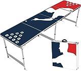 Mesa Oficial del Beer Pong | Player Tallas Oficiales | Impermeable y Resistente a rayones| Set de Bebida | OriginalCup®