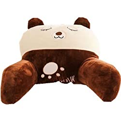 Mltao, Skin and brown color, sleeping dog, Lumbar pillow Support Cushion, Cute, Cozy Reading pillow