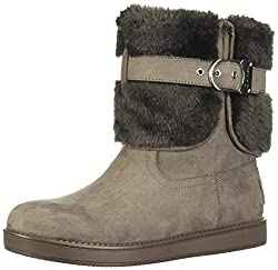 in budget affordable G by Guess Women's Australia Cold Weather Closed Toe Ankle Boots Grey Size 6.0