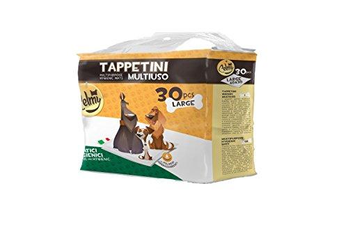 Tappetini Igienici Assorbenti Per Cani e Gatti Animali Domestici Traverse Celmy 60x90 120 Pezzi