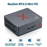 Beelink BT3-X Mini PC Window 10 RAM 4GB LPDDR4+ROM 64GB eMMC CPU: Intel Apollo...