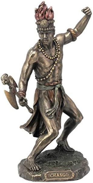 Wu Chango God Of Fire Thunder Lightning And War Statue Sculpture Figurine