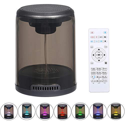 Sale!! Loijon Led Quran Speaker Wire-Less BT Speaker MP3 Player FM Radio Built-in 7-Color Led Light ...