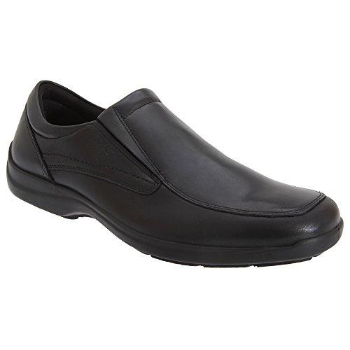 Imac Herren Klassische Leder Schuhe (44 EUR) (Schwarz)
