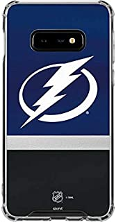 Skinit Clear Phone Case for Galaxy S10e - Officially Licensed NHL Tampa Bay Lightning Alternate Jersey Design