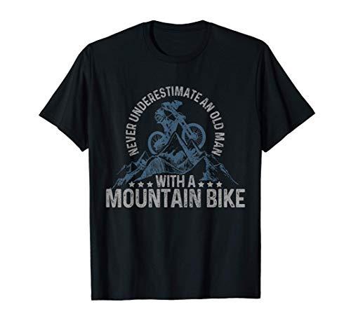 Uomo Mountain Bike Downhill MTB Bicicletta Regalo Ciclisti Maglietta