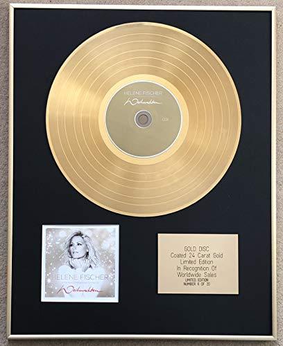 Century Music Awards - HELENE FISCHER – LTD EDITION CD 24 Karat Gold beschichtet – WEIHNACHTEN