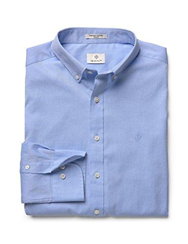 Gant Herren Blouson Freizeit-Hemd Blau Hellblau XXXL Gr. XXXL, blau