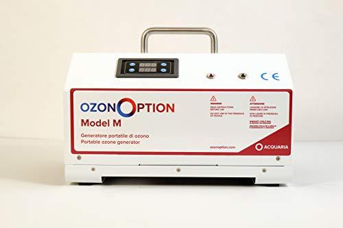 Générateur d'ozone OzonOption M portable pour la purification d'environnements et d'eau