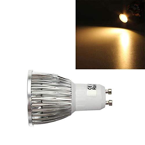 BXU-BG Bombilla LED 5W 500-550LM COB GU10 del punto del LED de la lámpara de las bombillas de CA 220V - blanco cálido