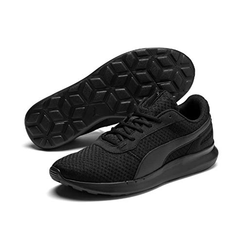 PUMA ST Activate, Zapatillas Unisex Adulto, Negro Black Black, 41 EU