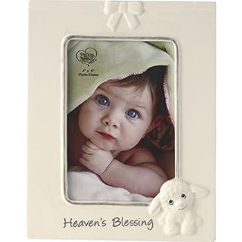 Precious Moments Heaven s Blessings Ceramic Lamb Photo Frame Beige