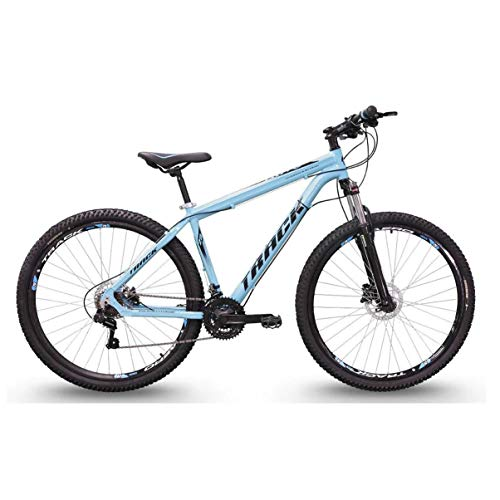 Bicicleta Trivo Adulto Aro 29 Alumínio 21 Marchas Câmbio Shimano Azul, Track Bikes
