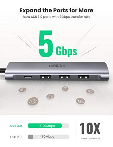 UGREEN USB C Adapter HDMI USB-C Hub HDMI 4K kompatibel mit MacBook Pro 16