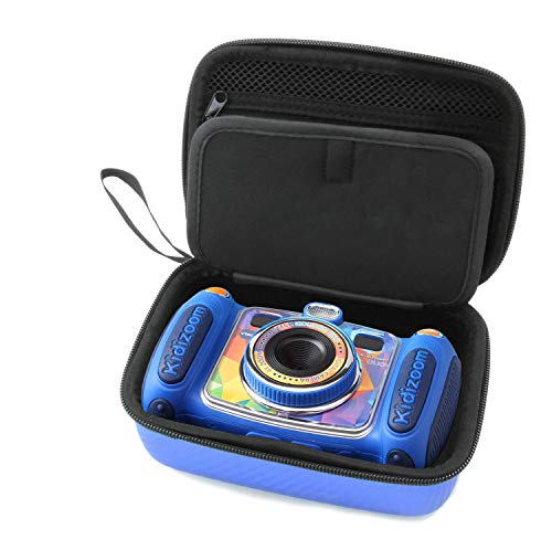 CASEMATIX Blue Kids Camera Case for VTech Kidizoom Camera Pix Duo Twist , Includes Case Only