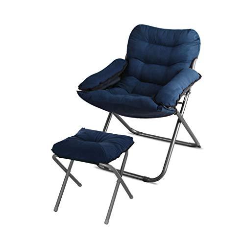 Chaise Pliante-canapé Chaise Multifonction Chaise Longue Multifonction Salon Chaise Pliante dortoir Balcon Ordinateur Chaise Confortable (Couleur : C)