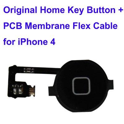 Repuesto de botón key sustitución part botón Inicio y membrana cable flex...