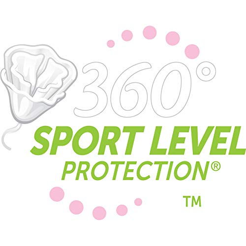 Playtex Sport Tampon Multipack, Unscented, 36-count Box (Pack of 2)