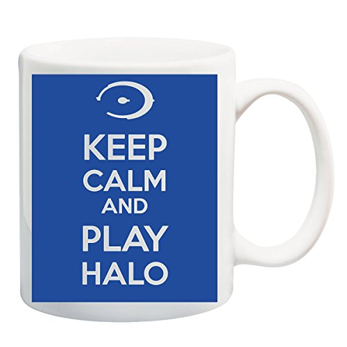 Keep Calm And Play Halo T-shirt mok