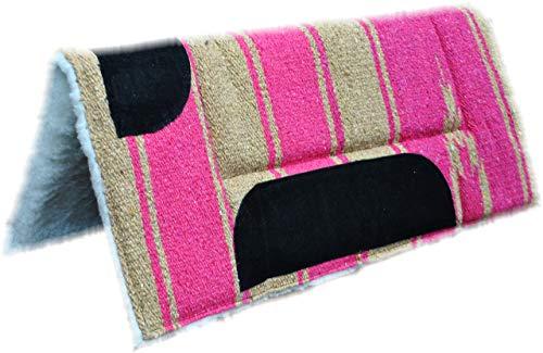 Reitsport-Service Shetty Pony Set Westernpad und Vorderzeug pink