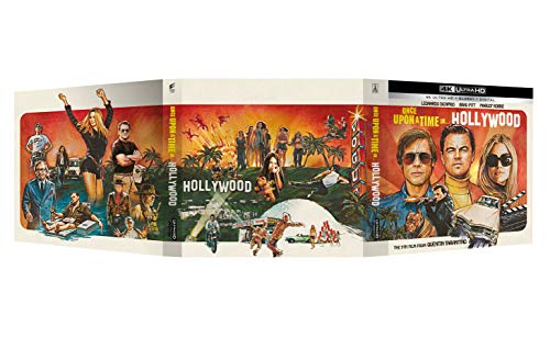 C'era una volta a...Hollywood Vinyl Edition (Blu Ray 4K)