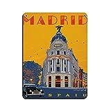 Retro City Travel in Madrid Metropolitan, Spanien Retro