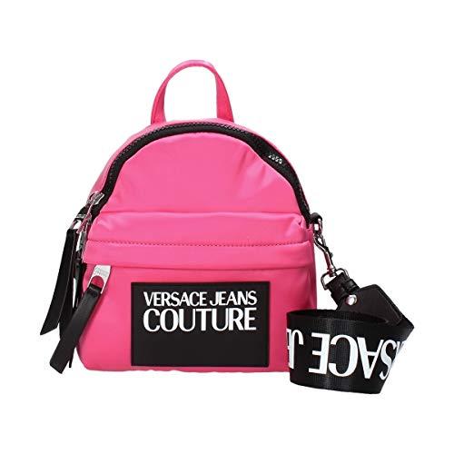 Mini Rucksack mit kontrastierendem Logo von Versace Jeans Couture Damen Farbe Fuchsia - E1VVBBT371420401