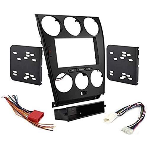 Sound Way - Kit Montaggio autoradio 1 DIN / 2 DIN Adattatore per Mazda 6, Atenza 2002-2007 - KA11-106