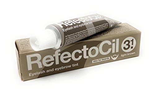 refectocil® Pestañas Color Sensible color marrón medio Cejas, tinte líquido 15ml, plantas Base