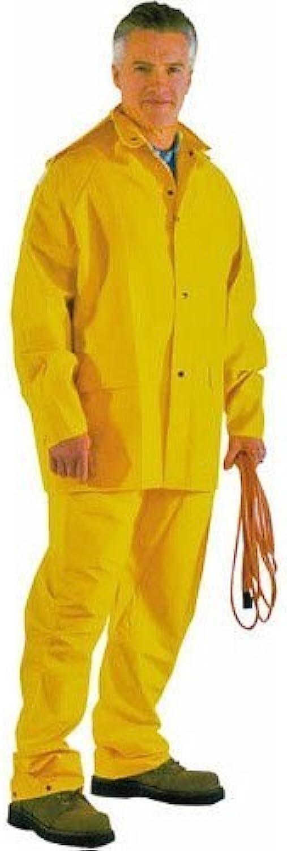 Diamondback UnisexAdult's Rain Suit (Yellow, Large),