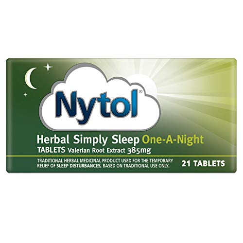 Nytol Herbal Simply Sleep One A Night Tablets - Traditional Herbal Remedy Used for Sleeplessness Relief - 21 Tablets