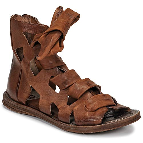 airstep / a.s.98 Ramos Laces Sandalen/Sandaletten Damen Camel - 41 - Sandalen/Sandaletten Shoes