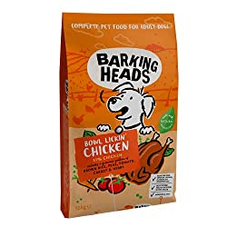 """100% NATURAL FREE-RUN CHICKEN - Our Bowl Lickin' Chicken dry dog food is made with 100% natural free-run chicken blended with a seriously yummy combination of garden veg and herbs, this chicken dinner isn't called """"Bowl Lickin"""" for nothing! NATURAL I..."""
