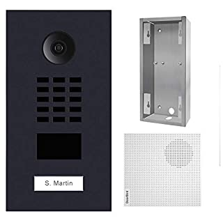DoorBird KIT D2101V-RAL7016 + A1061W + SUP-D2101V, Schwarz (B07J4RFYTH) | Amazon price tracker / tracking, Amazon price history charts, Amazon price watches, Amazon price drop alerts