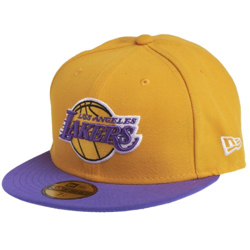 New Era 10861623 Gorra, Unisex Adulto, Amarillo/púrpura, 7.875