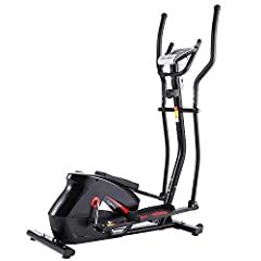 【LOW IMPACT, HIGH-INTENSITY】ANCHEER EM530 Elliptical Cross Trainer, is a fantastic alternative to a traditional exercise bike, offers a low impact cardio exercise that is kind on your joints, at the same time strengthens the main muscle groups as wel...