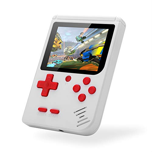 Handheld Game Console, Retro Portable TV Video Game Console 3 Inch HD Screen Built-in Classic FC Singer and Multiplayer Games Consoles for Kids AdultsGreat Gift for Christmas, Party Gifts
