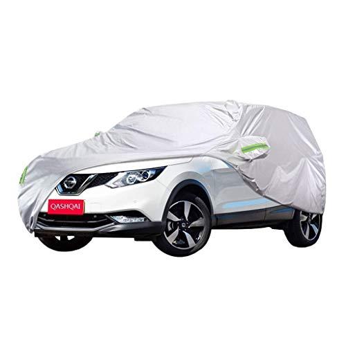 Autoabdeckung Nissan Qashqai Sonder Car Cover SUV Thick Oxford Cloth Sonnenschutz Regenschutz Warm Abdeckung Car-Cover (Größe, 2017), 2015 Autoabdeckung (Color : 2013, Size : One Size)