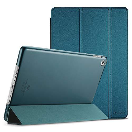 ProHülle iPad Air 2 Ultra Dünn Smart Hülle, Leichte Stand Schutzhülle Shell mit Translucent Frosted Rückhülle für Apple iPad Air 2 (A1566 A1567) –Teal