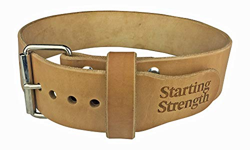 Starting Strength Weight Lifting Belt 3 Inch for Powerlifting,...