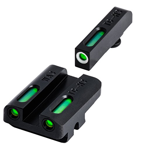 TRUGLO TFX Tritium and Fiber-Optic Xtreme Handgun Sights for Walther Pistols
