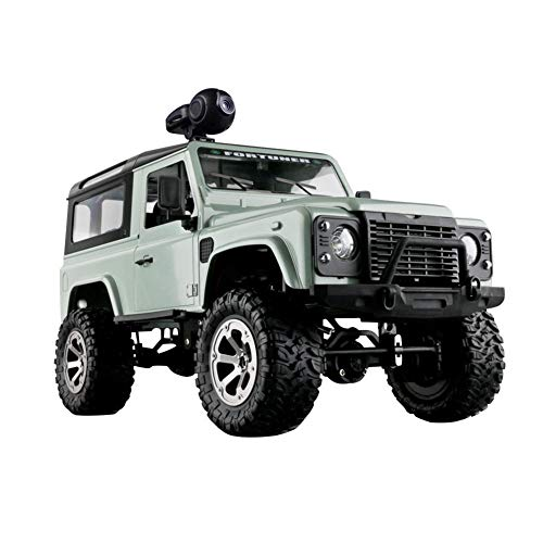Motto.h RC Military Truck, 1/16 RC Crawler Landrover Camion Militare, WiFi HD 720P Camera Car Drive off Road
