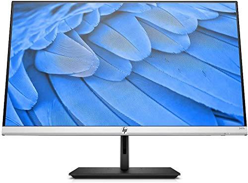 HP - PC 24FH Monitor, Schermo 23,8'' FHD IPS, Risoluzione 1920 x 1080, Tecnologia AMD FreeSync, Tempo Risposta 5 ms (con Overdrive), Inclinazione -5 a +25°, Rotazione Base ±45°, HDMI, Argento